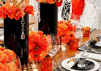 Table Decor + Candleholders